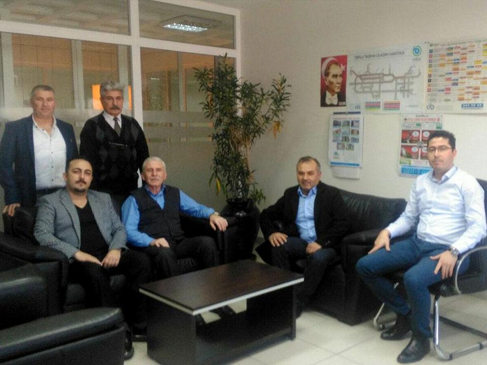 Çorlu Belediyesi Başkan Yardımcısı Erdoğan DEMİRCİ´yi makamında ziyaret ettik