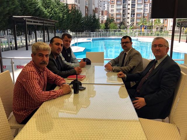 Tekirdağ Büyükşehir Belediyesi Zabıta Başkanı Ergene Vadisine Ziyareti