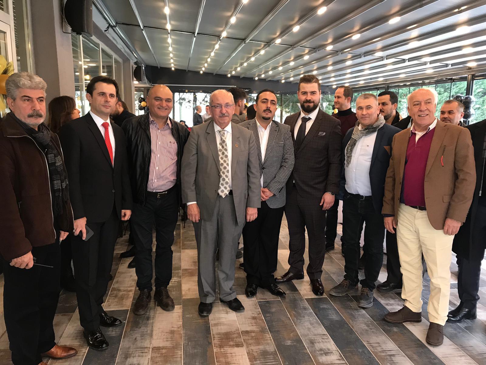 Sn. Kadir Albayrak ve Sn. İbrahim Uyan Sitemizi Ziyaret Etti