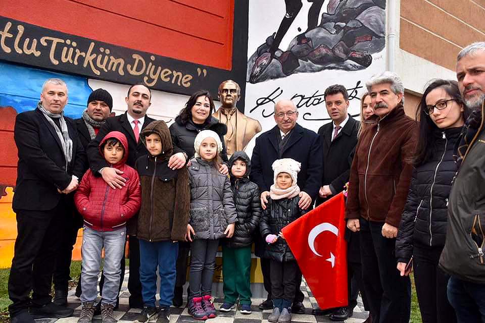 Atatürk Büstü ve Atatürk Köşesi Açılışı
